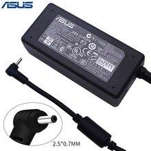 ASUS AC ноутбук адаптер питания зарядное устройство для Asus 2,5*0,7 мм 19V 2.1A 40W ADP-40PH AB блок питания зарядное устройство