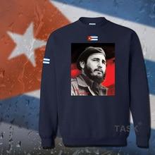 Fidel Castro President of Cuba hoodie men sweatshirt polo sweat suit hip hop streetwear tracksuit fleece 2017 casual Hero 03 top