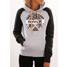 Women's Hoodie Sweatshirt Fashion Winter Brand Clothing Casual Long Sleeve Printing Drawstring Hooded Sweatshirt Outerwear z5