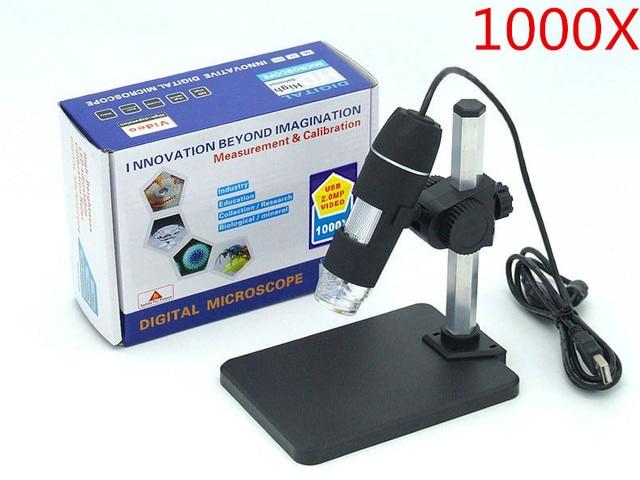 1000x usb digital microscope holder new 8 led endoscope with