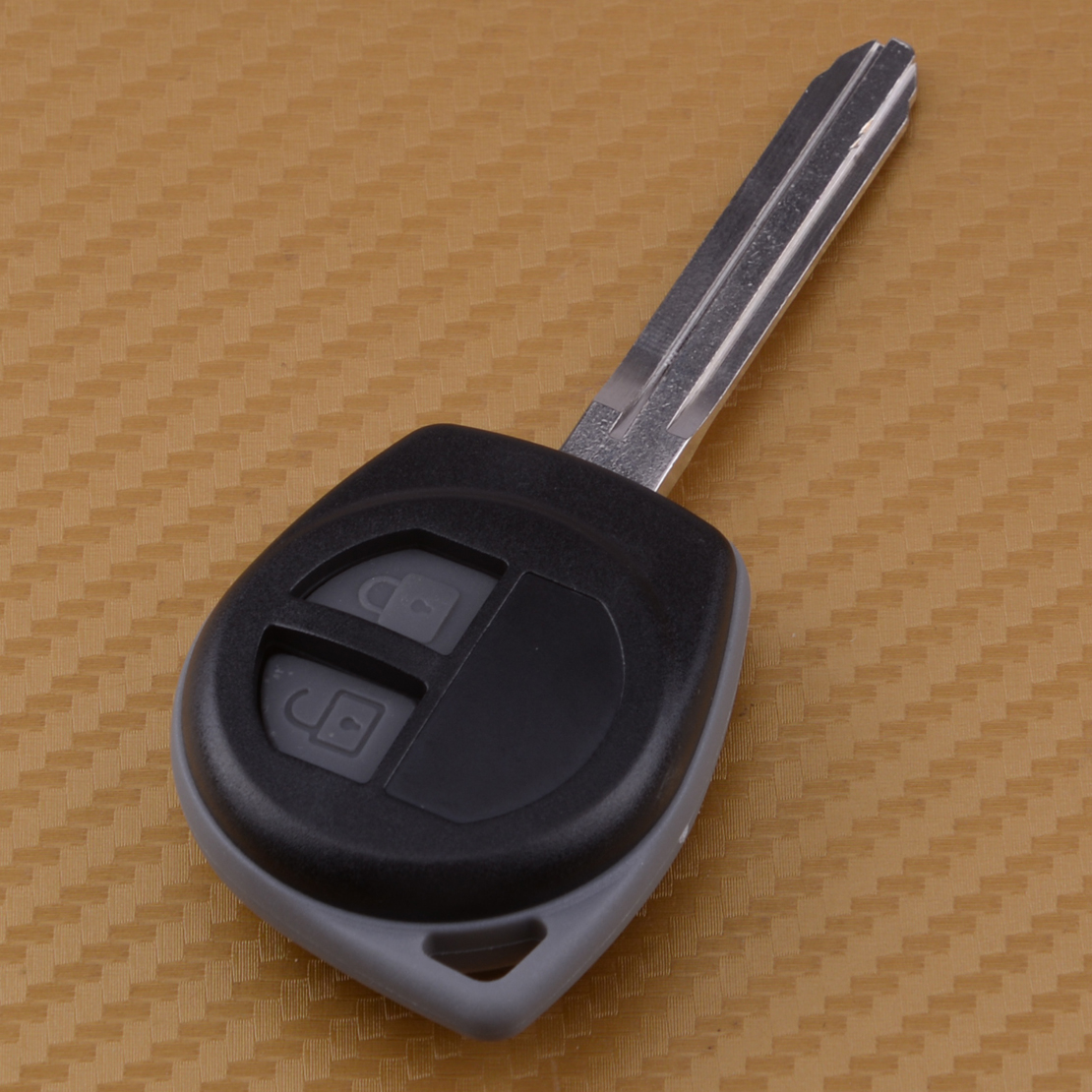 CITALL 2 Buttons Car Replacement Remote Key Shell Case Fob for <font><b>Suzuki</b></font> <font><b>Grand</b></font> <font><b>Vitara</b></font> Swift Liana 2003 <font><b>2004</b></font> - 2009 2010 2011 2012 image