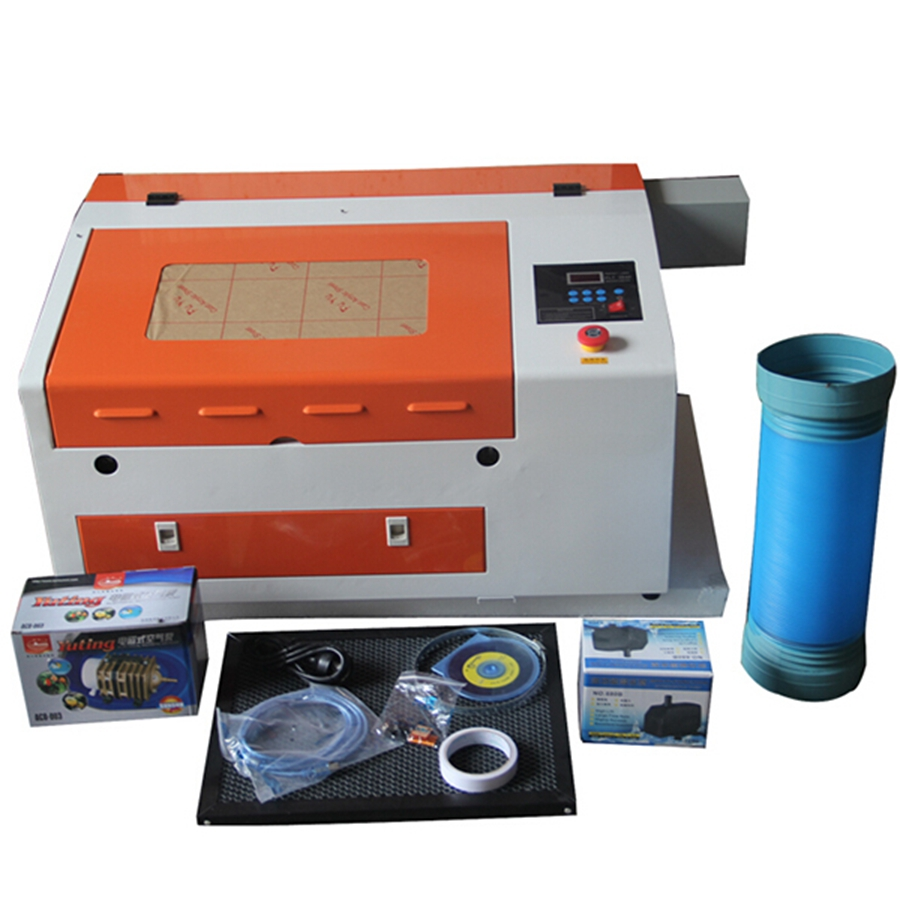 Co2 40W 50W 3040 Portable Mini Laser Engraving Cutting Machine For Acrylic/glass/plywood/MDF/cloth/fabric