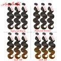 Дешевые Человека Virgin Волос Натуральный Коричневый и Черный Волос, Плетение 3 Пучки Angelbella Объемная Волна Продаж Перуанский Коричневый Девы волос