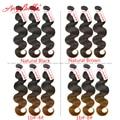 Cheap Human Virgin Hair Natural Brown & Black Hair Weave 3 Bundles Angelbella Body Wave for Sales Peruvian Brown Virgin Hair