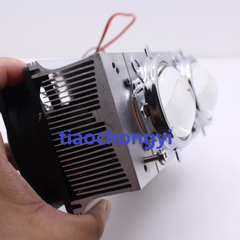 44mm Glass Lens for 50W 100W High Power Led 60 degree DC12V Led Heatsink Fan