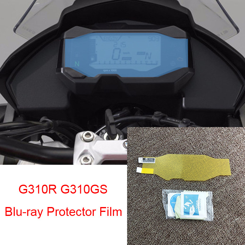 For BMW G310R G310GS Speedometer Speedo Screen Cluster Scratch Protection Film Instrument Dashboard Shield(China)
