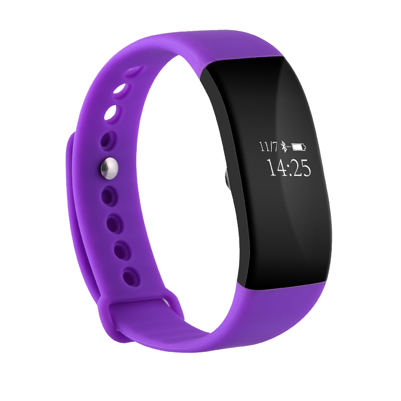 Smartch IP68 Heart Rate Monitor Smart Band V66 OLED Display Wristband Bracelet Sport Activity Fitness Tracker