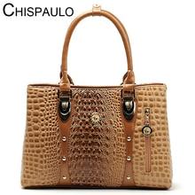 Frauen Tasche 2016 Beutel Handtaschen Frauen Berühmte Marken Luxus Designer Handtasche Hohe Qualität Krokodil Leder Tote Handtasche Damen B051