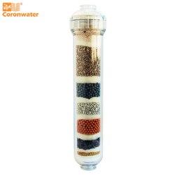 Cartucho de filtro de agua alcalina Coronwater IALK-101 para purificación de agua de ósmosis inversa