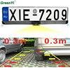 Car Reversing Rear View Camera European License Plate Night For Two Vision Backup Parking Sensor