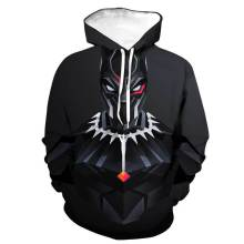 Black Panther Avengers Endgame Hoodie Sweatshirt Cosplay Costume Jacket Coats Men and Women New