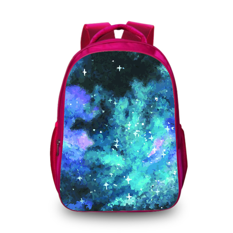 BAOBEIKU Fashion Backpacks Universe Space Galaxy Star Printing School Backpack Students Schoolbag Children Back pack Kids Bags