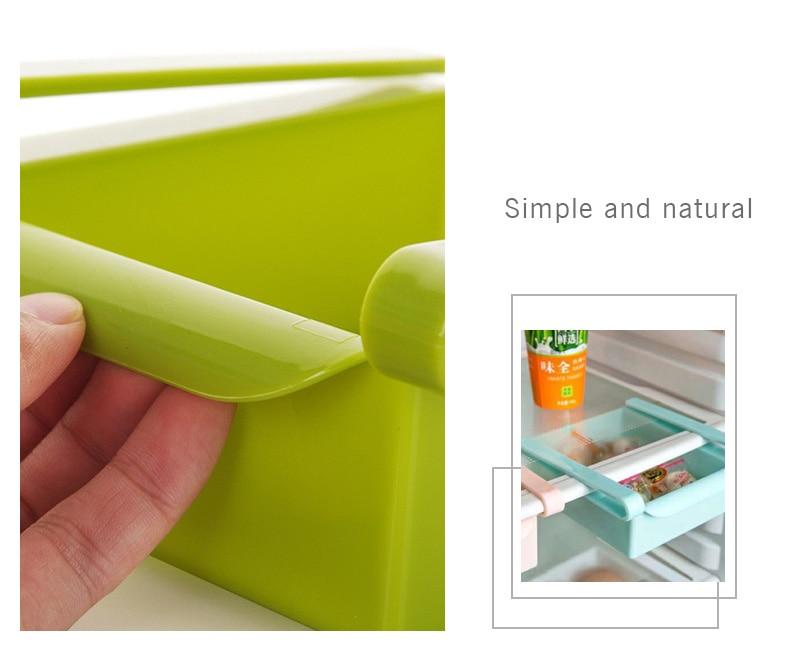 Kühlschrank Regal : Umweltfreundliche multifunktions küche kühlschrank lagerung rack