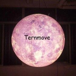 Nadmuchiwane księżyca piłkę  księżyc balon z led światła reklamowe Giant nadmuchiwane księżyca na całym świecie oświetlenie księżyc na imprezy/pokaż|Nadmuchiwane trampoliny|Zabawki i hobby -