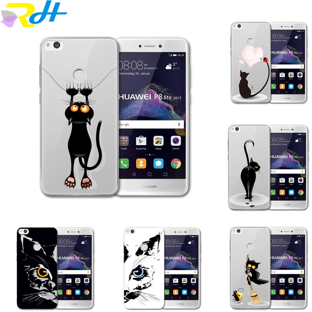 coque p8 lite 2017 huawei animaux