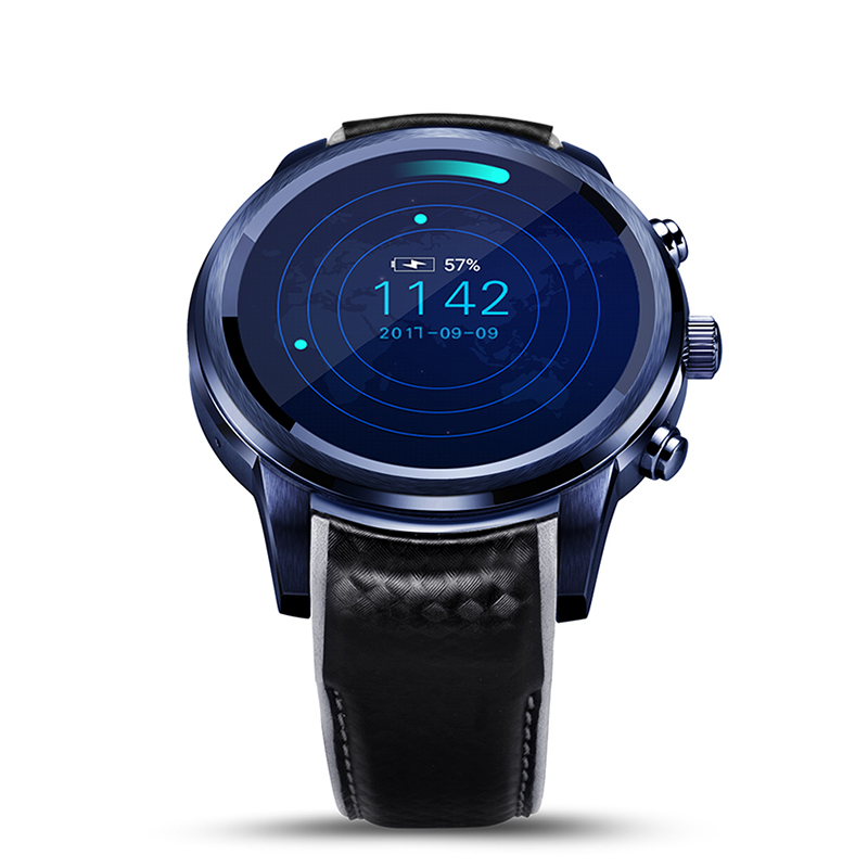"""LEM5 Pro GPS Smart Watch Heart Rate Monitor Smartwatch Android 5.1 WiFi Bluetooth Watches Phone 2GB + 16GB 1.39"""" OLED Smartwatch"""