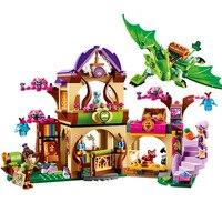 StZhou Elfi Luogo Segreto genitorialità attività di educazione blocchi di costruzione di modello rus ragazze e giocattoli per bambini compatibile lepin