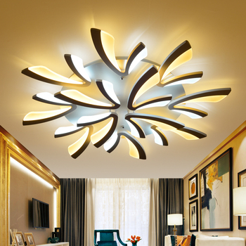 220V Atmospheric Acrylic led chandelier for living room bedroom study dining room ceiling chandelier lamp home lighting fixtures Chandeliers