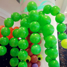 100pcs/lot 5 inch 1.3g latex tail green balloons wedding inflatable air ballon birthday party decoration kids balloon wholesale