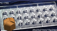 Polycarbonate Chocolate Mould 24 Cups Moldes De Policarbonato Para Chocolates Hollow Chocolate Molds 2015 Chocolate Making