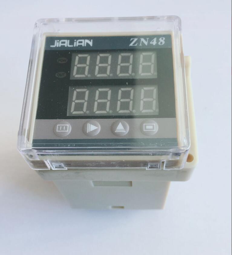 Contador de exibição digital zn48 duplo atraso relé inteligente duplo indicador contagem