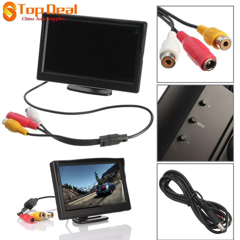 Epathchina 5 zoll auto monitor tft lcd bildschirm 234x480 hd digital farbe...