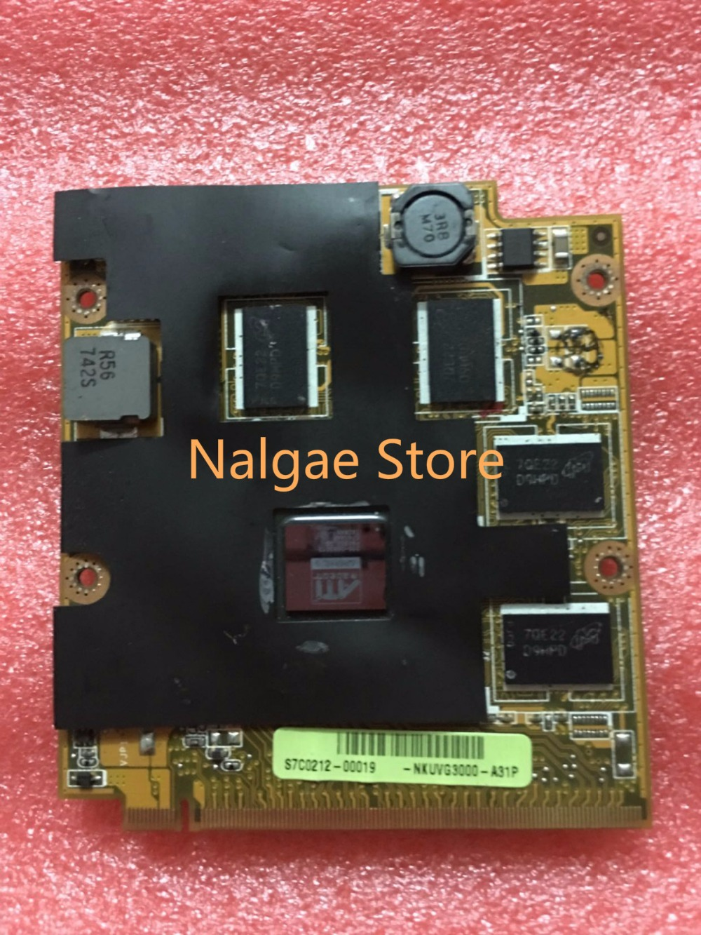 Original HD3650 for ASUS M70SA M70S M50SA F8SP F8V M86 ddr2 VGA brand 1GB Graphics Card Video card Mobility Radeon image