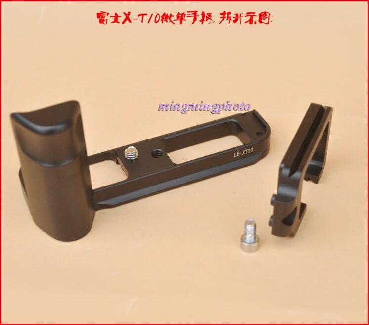 L-shaped Vertical Shoot Quick Release Plate Hand Grip Holder L Bracket Tripod Ballhead Support for Fuji Fujifilm X-T2 XT2