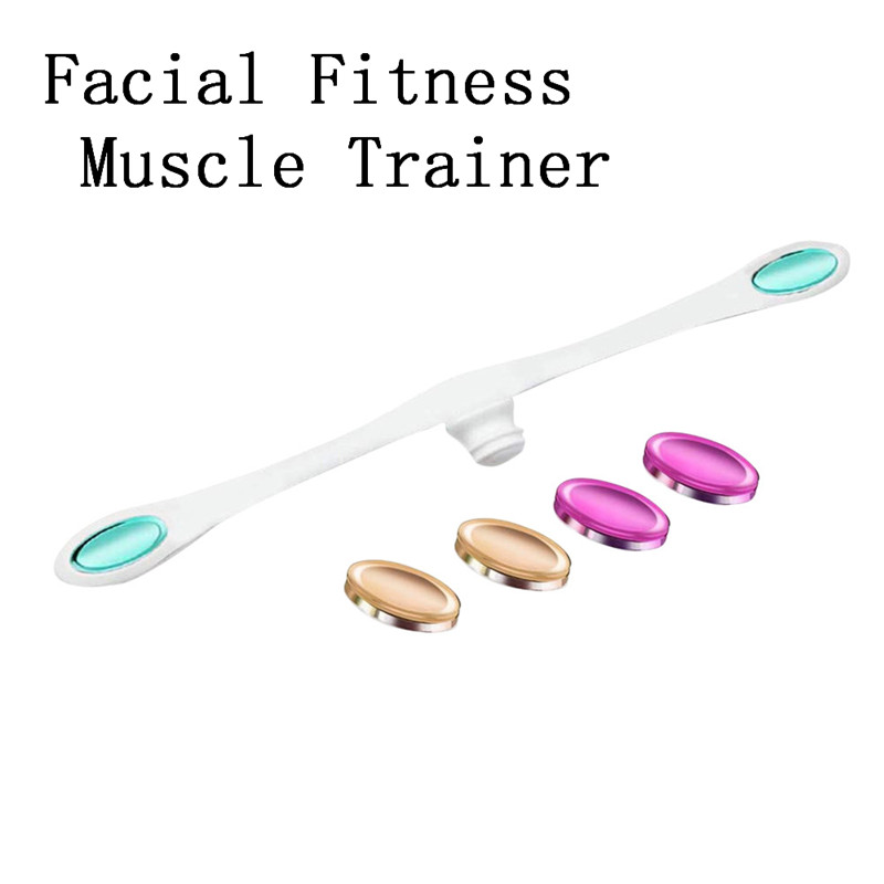 OutTop Smile Facial Fitness Muscle Trainer Facial Flex Face Exercise Anti Aging Smooths Massage & Relaxation tool 45#