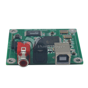 Image 2 - TZT CM6631A 24bit/192khz USB to Coaxial and Optical fiber SPDIF and I2S by LJM New version