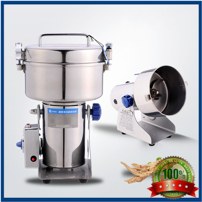 1000g Electric salt and pepper mill household moedor pimenta Stainless steel Food crusher machine ultrafine sesame seed grinder
