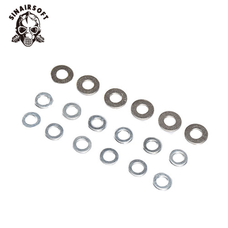 SINAIRSOFT Element IN0911 Shim Set For Airsoft AEG Gearbox Hunting Gun Accessories Free Shipping