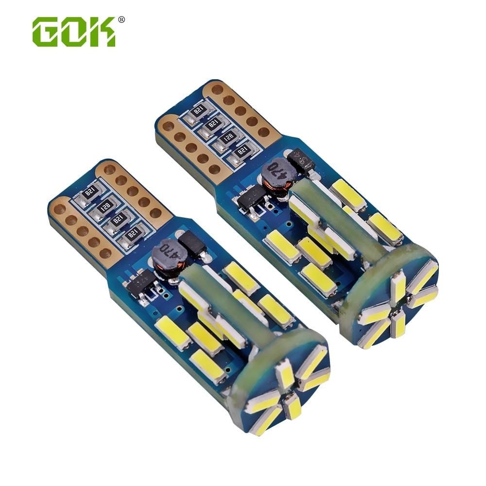 50db t10 led canbus T10 30led 4014 smd LED nem OBC hiba 194 168 W5W - Autó világítás