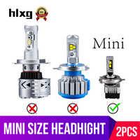 Hlxg H7 h4 ha condotto il faro lampadina CSP Perfetto hi lo H8 H11 Auto Della Nebbia Lampade Hb4 HB3 fonte 12v automobile 6000K 8000LM accessori Auto