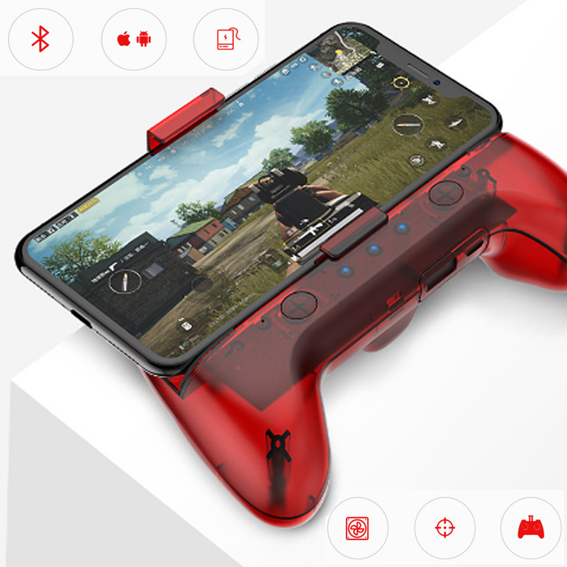 Wireless Bluetooth PUBG Game Controller With Cooler For IPhone Android Smart Phone Power Bank