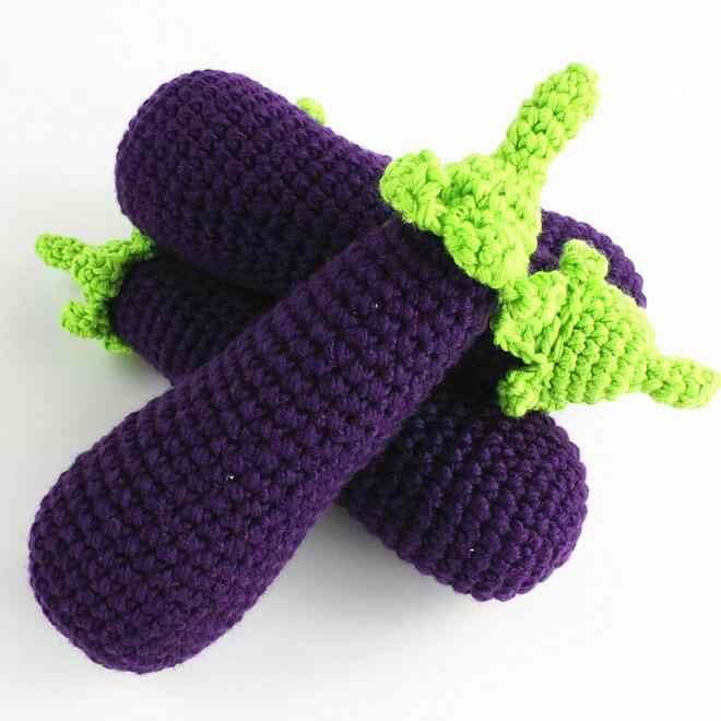 Новый стиль 1 шт. крючком Bay игрушка мягкая Экологичная amigurumi фрукты/овощи игрушка для новорожденных подарок kawaii пищевой реквизит Плюшевые игрушки