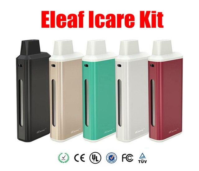 100% Оригинал Eleaf икар Starter Kit с 650 мАч Аккумулятор Новый IC Глава икар kit 1.8 мл Распылитель Бака E сигареты комплект