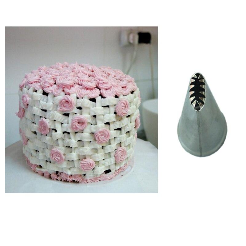 ᓂ# Cp22 armadura de cesta acero crema icing piping boquillas ...