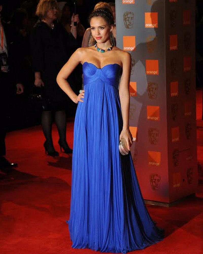 Celebrity Maternity Evening Dresses