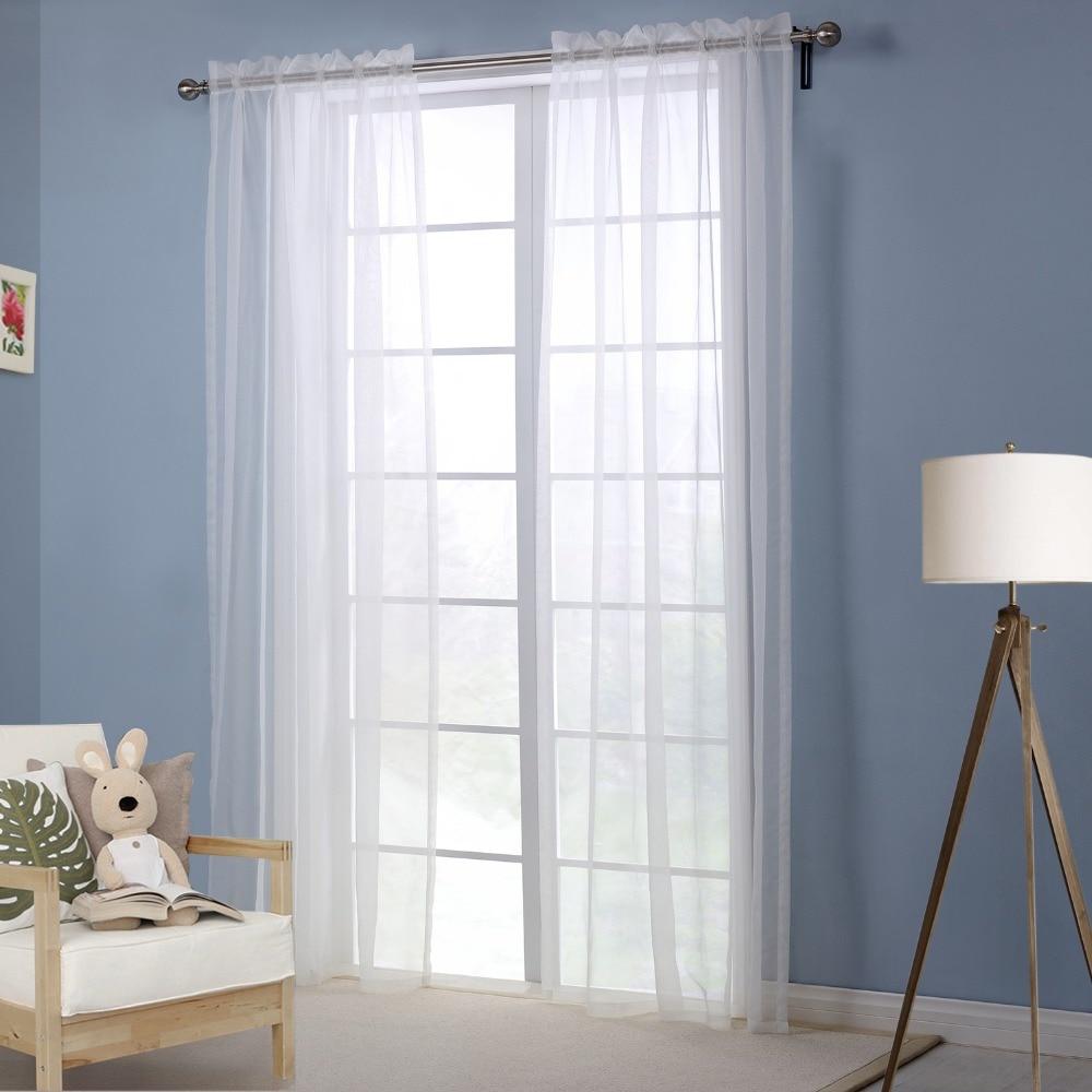 cortinas blancas modernas ventana de la cortina sala cortinas blancas para el