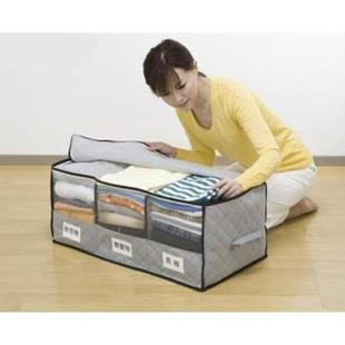 Blanket Clothes Under Bed Folding Storage Box Bag Container Closet Organizer Holder In Bo Bins From Home Garden On