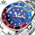 SEWOR Data Relógios de Pulso Top Esporte Marca de Luxo Relógio Mecânico Automático Relógio Dos Homens Do Exército Militar Relógios Relogio masculino