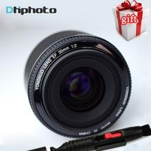 Nouveau YONGNUO 35mm Lentille YN35mm Lentille F2 1:2 AF/MF large-Angle Fixe/Premier Auto Focus Lens Pour Canon EF Mont EOS Caméra