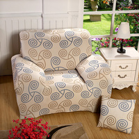 Universal 1 2 3 4 Seat Sofa Cover Printing Couch Cover Stretch Sofa Covers Elastic Furniture