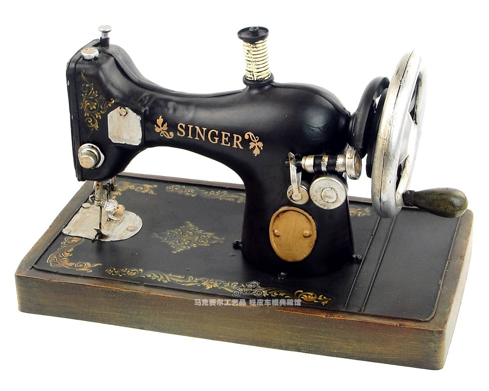Aliexpresscom  Buy Antique Sewing Machine Model Black Handmade Vintage Metal Home Office Bar Cafe Decoration Gift From Reliable Decorate Bag   T