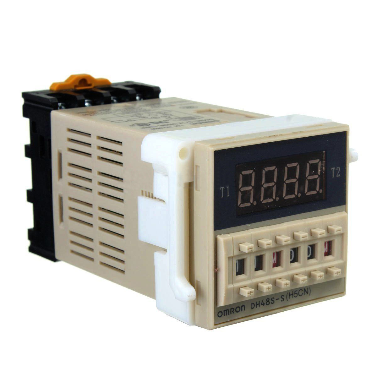 AC 220V 5A Programmable Double Time Timer Delay Relay Device Tool DH48S-S  Dropshipping