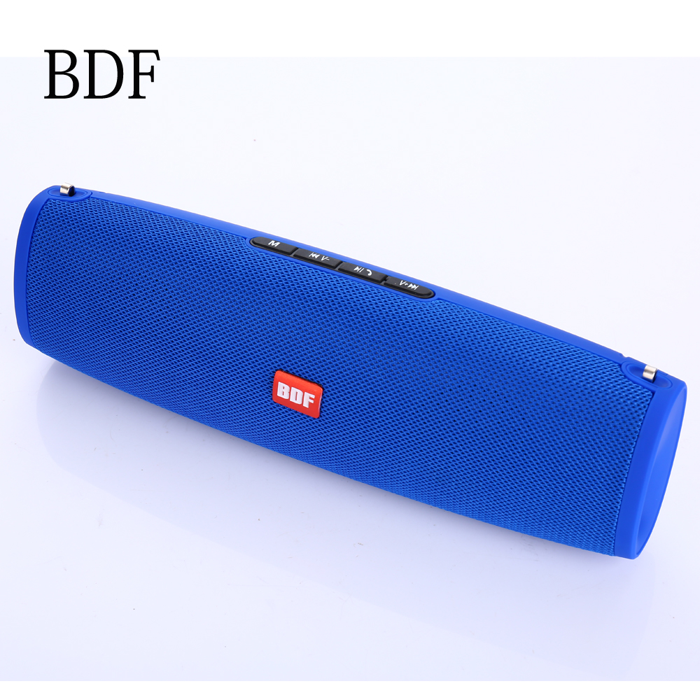 Bdf Mini Tv E9 Bluetooth Speaker Radio Portable Soundbar