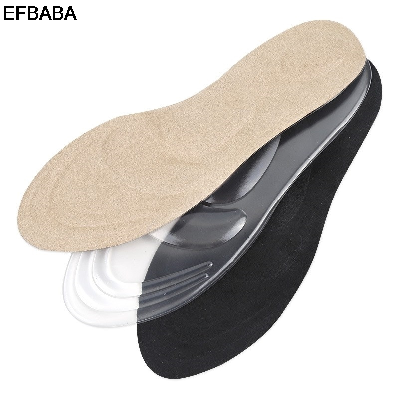 EFBABA High Heel Pad Silicone Gel Insoles Massaging Arch Support No Slip Damping Insole Women Shoe Pad Accessoire Chaussure