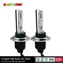 35 Вт CNLIGHT H7 Xenon H1 H11 H8 H9 hb4 9005 HID лампа с керамическим металлическим основанием для автомобильных фар 4300K 6000K 8000K hid фары