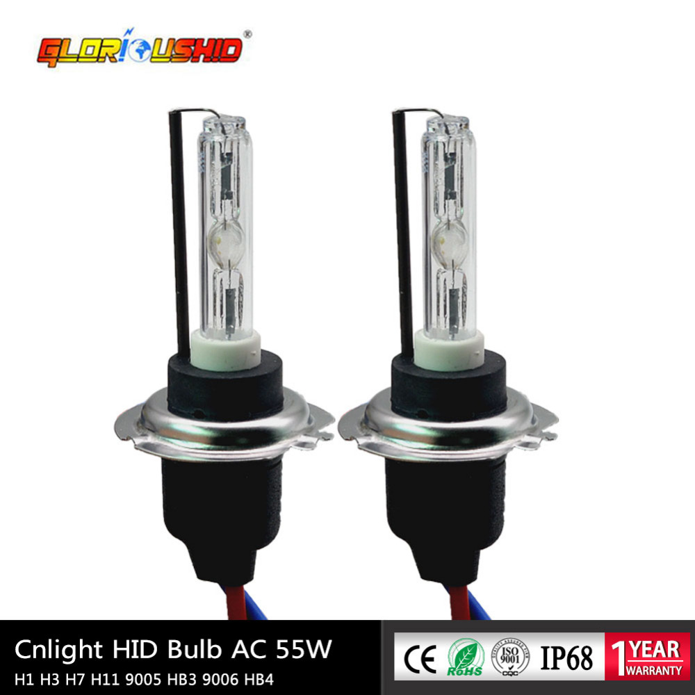 35W CNLIGHT H7 Xenon H1 H11 H8 H9 Hb4 9005 HID Bulb With Ceramic Metal Base For Car Headlight 4300K 6000K 8000K Hid Lights
